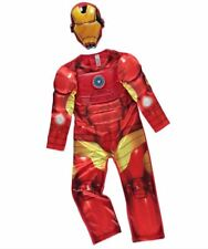 Boys Marvel Avengers Iron Man Light Up Fancy Dress Costume