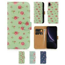 32nd de Flores Series - Libro Cuero Pu Cartera Funda Carcasa para Iphone Apple