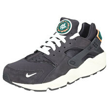 Nike Air Huarache Run Premium Charcoal Mens Trainers - 704830-015