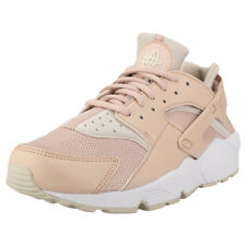 Nike Air Huarache Run Beige Pink Womens Trainers - 634835-202