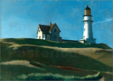 Póster, lienzo o cuadro en metacrilato Lighthouse Hill - Edward Hopper