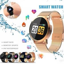 Impermeabile Bluetooth Smart Watch Cardiofrequenzimetro Polsiera Sport