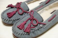 Clarks Eskimo Kiki Suede Suede Ladies warmed slippers size 4/37, 7/41 D