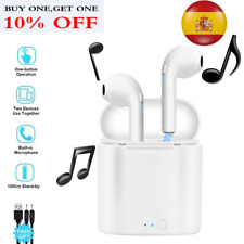 Airpods i7S TWS Auricular inalámbrico Bluetooth Auriculares para i phone android