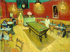 Póster, lienzo o cuadro en metacrilato Night Cafe in Arles - Vincent van Gogh