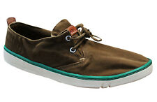 Timberland Hombre Earthkeepers Hookset Marrón Lona Zapatos con Cordones 5109R