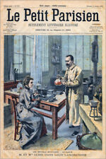 Póster, lienzo o cuadro en metacrilato Pierre and Marie Curie
