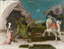 Póster, lienzo o cuadro en metacrilato St. George and the Dragon - P. Uccello