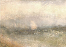Póster, lienzo o cuadro en metacrilato Off the Nore: Wind and Water - J. Turner