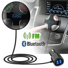 Mano libres inalámbrico Bluetooth FM transmisor Reproductor Kit Mp3 con cargador