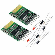 2pcs Bluetooth Receiver Board 5v Wireless Stereo Music Module 4.0 Audio By Maker
