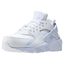 Nike Air Huarache Run Womens White White Synthetic & Textile Trainers
