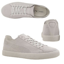 bb5c9a3fdcca3d Puma x STAMPD Clyde Lace Up Mens White Leather Trainers 362736 02 M18