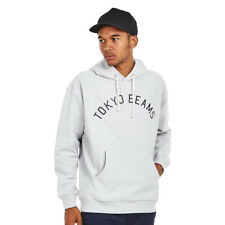 Champion x Beams - Hooded Sweatshirt 2 Oxford Grey Melange Kapuzenpullover