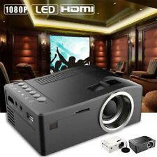 Full HD 1080P Cine en Casa Led Mini Proyector Multimedia Cine USB Tv HDMI Au