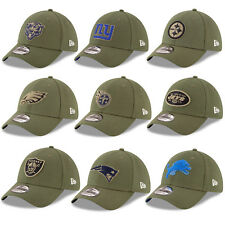 New Era NFL 2018 Salute to Service Sideline Men's Khaki 39THIRTY Stretch Fit Cap
