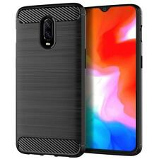 Carbon Fiber Case For OnePlus 6 6T Case Soft Silicon Case TPU Cover OnePlus 6 6T