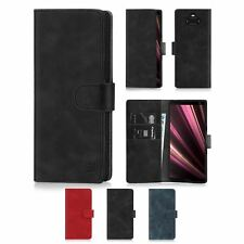 32nd Essential Series - PU Leather Book Wallet Flip Case Cover - Sony Xperia XA3