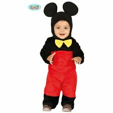 88375 - Costume Topolino Neonato 6/12 Mesi Minnie Mickey Mouse Disney Accessori