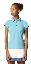 Adidas Performance Donna Tennis Polo Uncontrol Climachill Polo Turchese