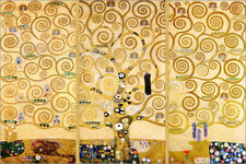Póster, lienzo o cuadro en metacrilato The Tree of Life - Gustav Klimt