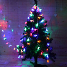 Battery Operated 20 LED Christmas Tree Bell Fairy String Light Festival Decor