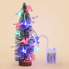 Battery Operated 20 LED Christmas Deer Fairy String Light Reindeer Decorations