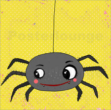 Póster, lienzo o cuadro en metacrilato Itsy bitsy spider - Little Miss Arty