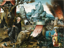 Póster, lienzo o cuadro en metacrilato The Temptations of St. Anthony - H. Bosch