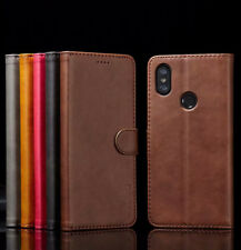 For Xiaomi Mi A1 A2 Lite Magnetic Flip Leather Wallet Case Card Stand Cover