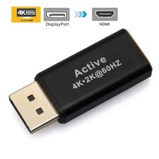 DP Display Port to HDMI Converter Male to Female Gold-Plated Cord 4K @60Hz