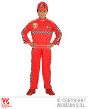 Boys Formula 1 Driver Outfit for Sports Racing Car F1 Fancy Dress Costume