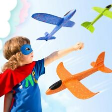 Hand Throw Flying Glider DIY Kid Toy Plane Foam Aeroplane Model Airplane Biplane
