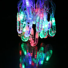 2.5M 20 LEDs Christmas Candy Crutch LED String Light Party Decor Battery Power