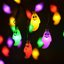 2.5M 20LED Halloween Decor Fairy Ghost String Light Night Party Battery Power