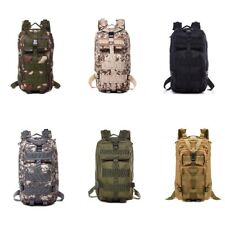 Tactical Backpack Military Army Outdoor Bag Rucksack Camping Hiking Sports Molle