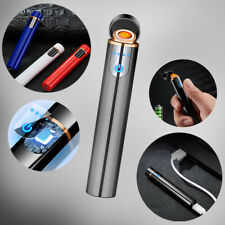 USB Cigarette Lighter Charging Touch Screen Electronic Flameless Rechargeable