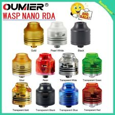 Original OUMIER WASP NANO RDA Big Deck Rebuildable T ank 22mm Airflow All Colors