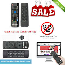 Mx3 Air Mouse 2.4G Wireless Mini Keyboard With Voice Remote Control For