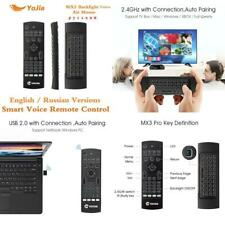 Mx3 Fly Air Mouse Russian English Backlit Mx3 Pro Smart Voice Remote Control Ir