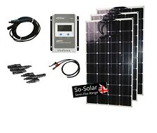 Solar Panel Kit, 100W to 300W including Controller and All Cables