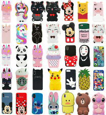 Cute 3D Cartoon Disney Silicone Case Cover For Touch 5 6 iPhone 4S 5C 7 8 Plus X