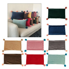 Soft Throw Pillow Case Velvet Pillow Cushion Covers Triangle/Rectangle