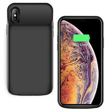 Rear Charging Case Cover Battery Black Replacement For iPhone X XS XR XS MAX