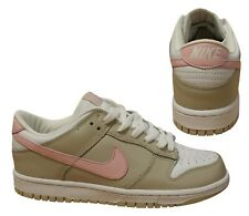 ae87e94b Nike Dunk Low Womens Trainers Lace Up Casual Shoes Beige 309324 161 Q10E