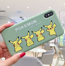 Case Cover For iPhone XS MAX XR X 8 7 6 6s Plus Soft Silicone Cartoon Pikachues