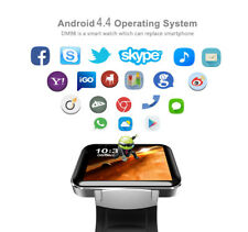Bluetooth 3G Android Smart Watch SIM Phone 4GB GPS Front Kamera MP3 Dual Core