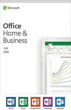 Microsoft Office 2019 Home and Business | Retail | 1 PC Windows/Mac