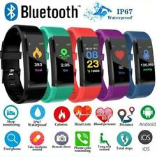 Smart Bracelet Sport Bluetooth Wristband Heart Rate Monitor Watch Activity