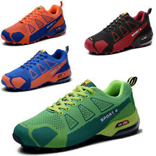 Fashion Men's Hiking Shoes Breathable Running Sports Sneakers Athletic Trainers